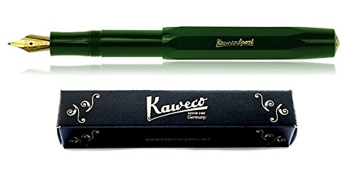 Nib Green (Kaweco Sport Classic Fountain Pen - Green - F Nib (fine))