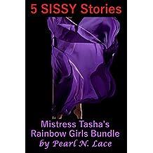Mistress Tasha's Rainbow Girls Bundle (5 Sissy Stories) (Sissification Fantasy)