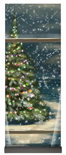 Cards Snowfall Christmas (Pixels Yoga Mat w/ Bag