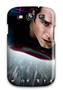 Hot Case For Galaxy S3 With Nice Man Of Steel Dc Comics Superhero Appearance 6267278K23048927