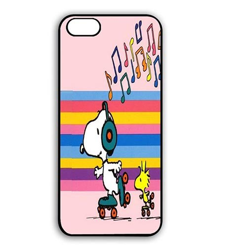 Coque,Snoopy Dancing Design Anti Slip Shell for Coque iphone 6 4.7 pouce Skin Cover With Best Plastic - Beautiful Coque iphone 6 Phone Case Cover for Girly
