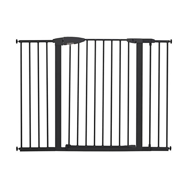 Munchkin Easy Close XL Metal Baby Gate, 29.5″ – 51.6″ Wide, Black, Model MK0009-111