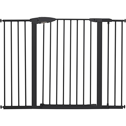 Munchkin Easy Close XL Metal Baby Gate, 29.5″ – 51.6″ Wide, Black, Model MK0009-111 For Sale