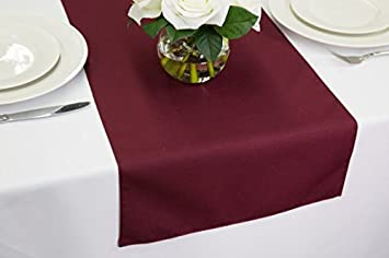 Wedding Table Runners 14u0026quot; X 108u0026quot; (Burgundy)