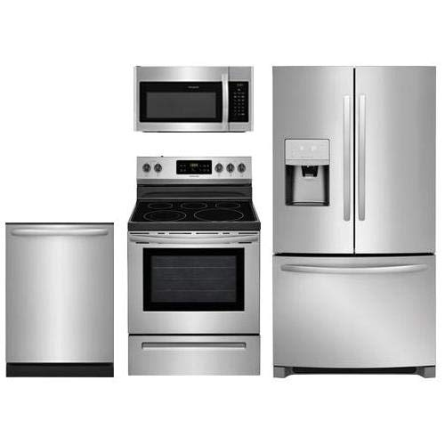 stainless steel appliance suite - 8