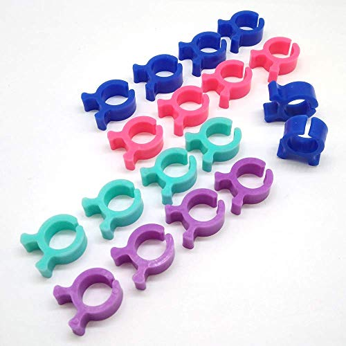 for Sew - Bobbin Clips Holders Clamps Bobbin Buddies Great for Embroidery Quilting and Thread Machine