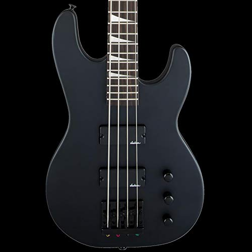 Bass Guitar Black Satin - Jackson JS Series Concert Bass JS2 Electric Bass Guitar (Satin Black)