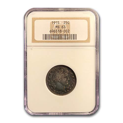 1915 Barber Quarter MS-63 NGC Quarter MS-63 NGC