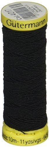 Knitting Thread Elastic (Elastic Thread 11 Yards-Black)