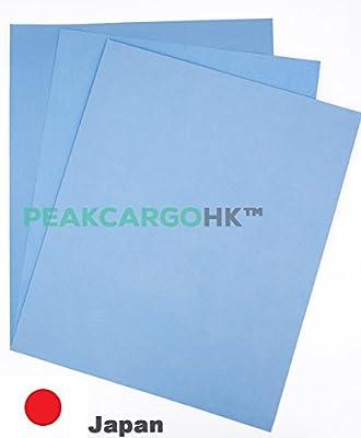 Pack of 6 Sheets Premium Japan Precision Sanding Polishing Wet/Dry Waterproof Abrasive Sand Paper Grit 2000 3000 5000 Metals, Woods, Plastics, Leather