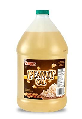 Snappy Popcorn 1 Gallon Snappy Pure Peanut Oil No Color Added, 128 Fl Oz by Snappy Popcorn
