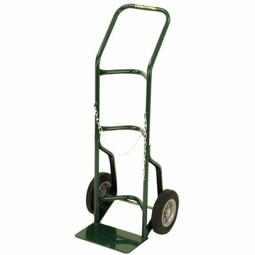 Harper Trucks 701-86 48-Inch High by 21-Inch Wide Utility Hand Truck with 10-Inch Solid Rubber ()