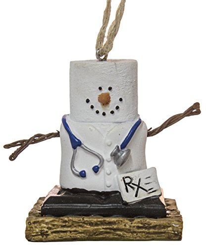 S'Mores Doctor Christmas/ Everyday Ornament (Christmas Ornaments Medical)
