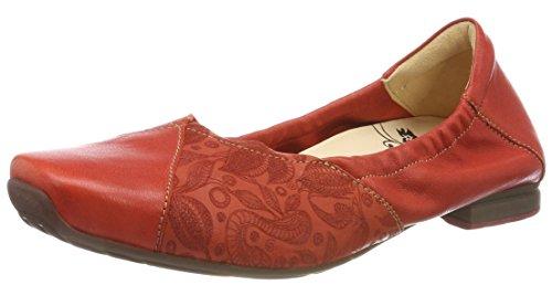 Think Femme 76 282177 Gaudi chilli kombi Rouge Ballerines zrFzqwB