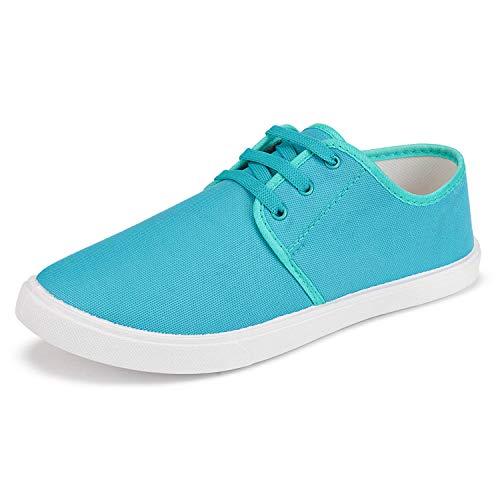 2ROW Men's Canvas Blue Sneakers (9) (B08DG2291P) Amazon Price History, Amazon Price Tracker
