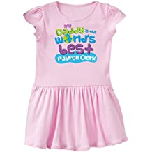 inktastic Daddy Is The World's Best Payroll Clerk Infant Dress