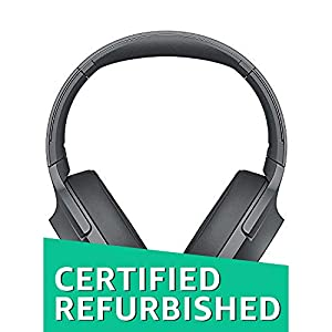 Sony WH-H900N h.Ear on 2 Wireless Over-Ear Noise Cancelling High Resolution Headphones (Black/Grey) (Refurbished)