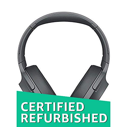 (Sony WH-H900N h.Ear on 2 Wireless Over-Ear Noise Cancelling High Resolution Headphones (Black/Grey) (Refurbished))