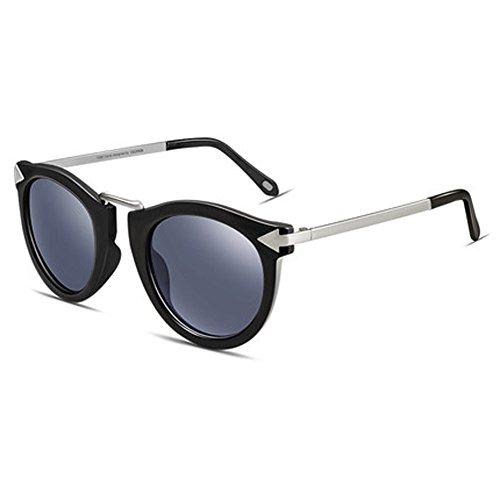 B visage rondes UV lunettes soleil de de de ZY protection féminine Lunettes lunettes mode qg7z7O