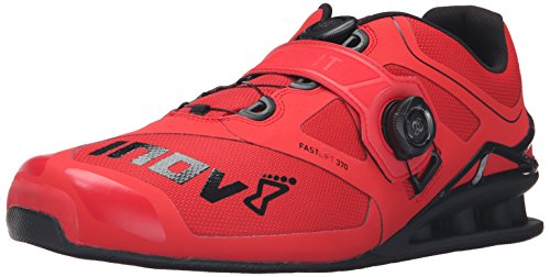 Inov-8 Fastlift™ 370 Boa-U Cross-Trainer Shoe, Red/Black, 11.5 M US Men's/13 M US Women's