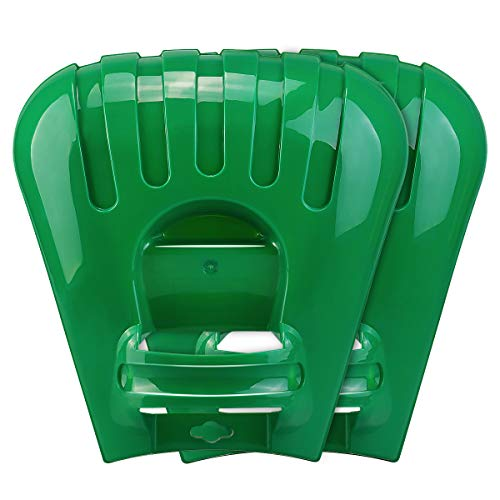 Large Leaf Scoops and Hand Rake Claw, Ergonomic Hand Held Garden Rake Grabbers for Picking up Leaves,Grass Clippings and Lawn Debris best to buy