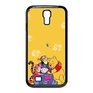 Samsung Galaxy S4 9500 Black phone case Winnie the Pooh YYF4344166