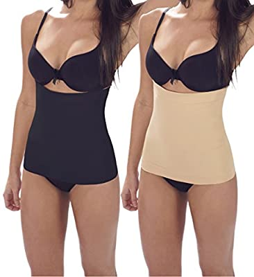 Womens Shaping Band 3 in 1 Slimming Solution - Black, Nude, and Mocha