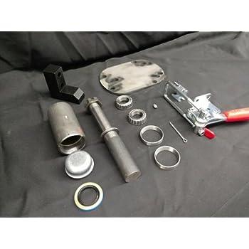130 Heavy Duty Hinge Swing Away Tire Carrier Pivot Housing Kit Tire Carrier Pivot Hinge Kit by Randy Ellis Design