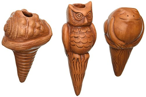 the-crabby-nook-watering-stakes-patio-terracotta-owl-sea-shell-frog-potted-plant-garden-pots-decor-s