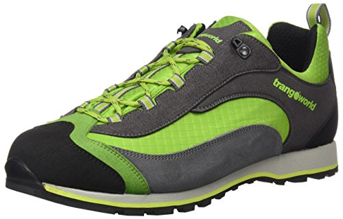 TRANGOWORLD Shangu, Zapatillas de Deporte Exterior Unisex Adulto Gris (Gris / Verde Claro)