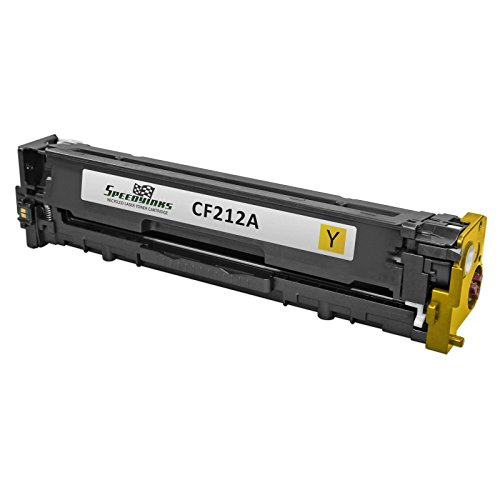 131a Yellow Toner Cartridge (Speedy Inks - Compatible Replacement for HP 131A / HP131A / CF212A Yellow Laser Toner For use in LaserJet Pro 200 Color M251n, Color M276n, M251nw, & M276nw)