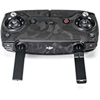 Wrapgrade Poly Skin for DJI Mavic Air | Remote Controller (BLACK BUMPY CAMO)