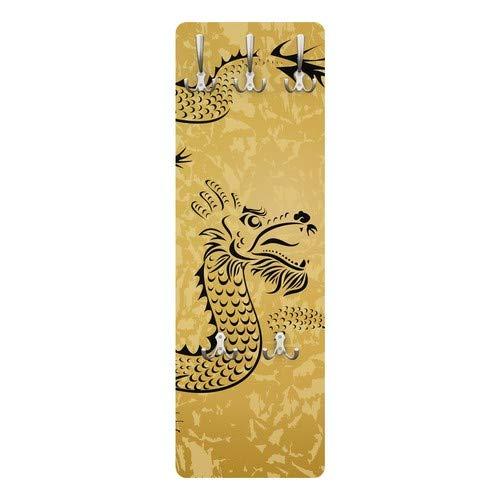 Perchero Perchero - Dragón Chino 139 x 46 x 2 cm, Perchero ...