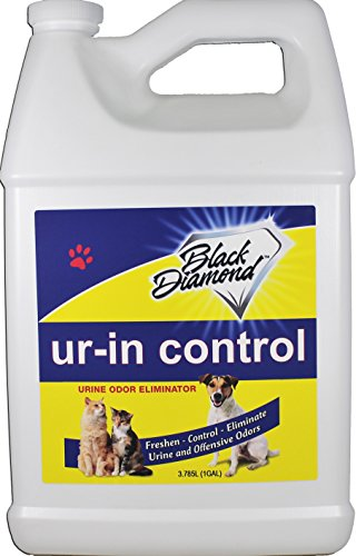 Black Diamond Stoneworks Ur-in Control Eliminates Urine Odors - Removes Cat, Dog, Pet, Odors Human Smells from Carpet, Furniture, Mattresses, Grout and Pet Bedding, Concrete. Biodegradable Enzymes. (Best Way To Get Rid Of Cat Urine)