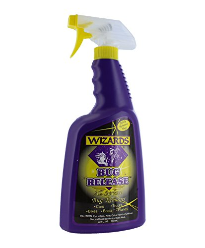Wizards Bug Release_ Car Wash Presoak Bug Removal Surface Cleaner for Car Care