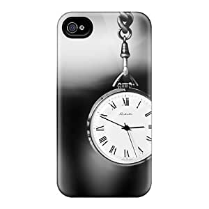 Waterdrop Snap-on Pocket Watch Case For Iphone 4/4s