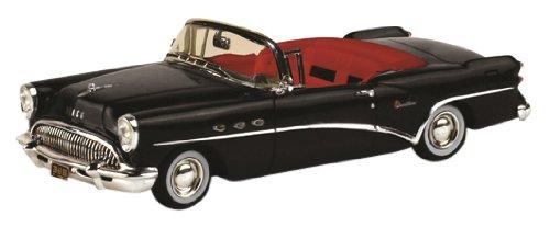 1/43 ビュイック センチュリー 1954 2ドア コンバーチブル(ブラック/インテリア:レッド) TSM134307