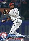 2018 Topps Chrome Baseball #130 Elvis Andrus Rangers