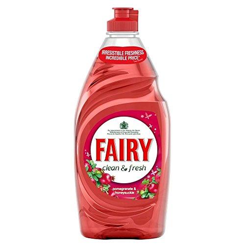 Fairy Pomegranate & Honeysuckle Washing Up Liquid (530ml) - Pack of 2 (Fairy Dishwashing)