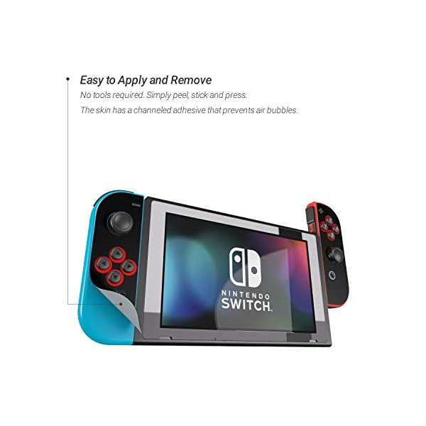 Retro - Decal Sticker Wrap - Compatible with Nintendo Switch 3