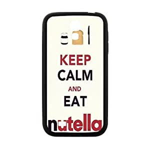 Keep Calm And Eat Nutella Brand New And Custom Hard Case Cover Protector For Samsung Galaxy S4 in GUO Shop