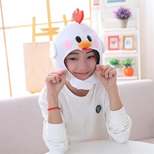 Costume Props - Cute Little Chicken Cock Web Celebrity Cosplay Costumes Props Hat Star Love Ear Move Jump Fancy - Costume Ears Photo Adults Baby Kids Booth Props Alien -