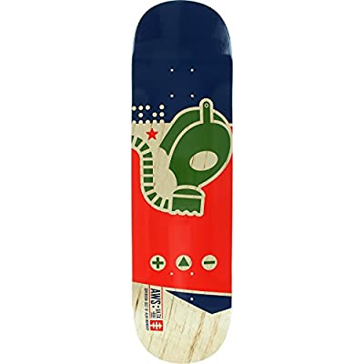 "Alien Workshop Gas Mask Medium Skateboard Deck - 8.25"" x 32.25"" from Alien Workshop"