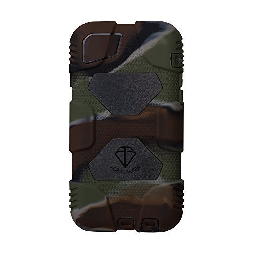 Iphone Case,ACEGUARDER®iphone 6 Case (Military Heavy Duty) *shockproof* *rain resistance* *anti-dirt* best case with Back Cover Standing and screen protector for Apple iphone 6 4.7Inch [iphone 6,Camo/Black]