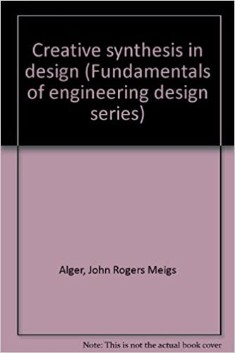 Creative Synthesis in Design (Fundamentals of engineering