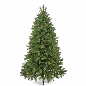 6ft/180cm Norway Spruce Green Artificial Christmas Tree: Amazon.co ...