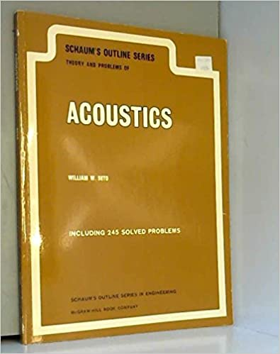 Theory and problems of acoustics schaums outline series william theory and problems of acoustics schaums outline series 1st edition fandeluxe Choice Image