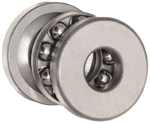 rust Bearing 1/2 x 1 9/32 x 5/8 Inch (Grooved Ball Bearing)