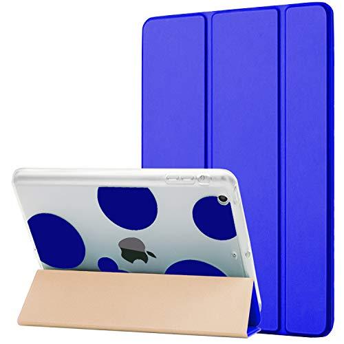 Dailylux iPad Mini Case,ipad Mini 2 Case,ipad Mini 3 Case, Smart Folio Stand Cover Ultra Slim Light Shockproof TPU + Hard PC Romantic Bubble w/Auto Sleep/Wake Function for ipad Mini 1/2/3-Dark Blue