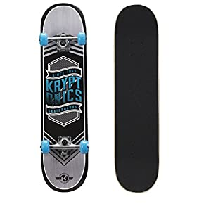 Kryptonics Drop-In Series 31 Inch Complete Skateboard